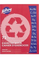 Hilroy EXERCISE BOOK-STITCHED 9-1/8X7-1/8 8MM RULED WITH MARGIN