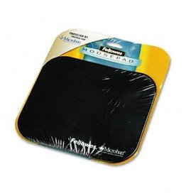 Fellowes MOUSE PAD-WITH MICROBAN, BLACK -5933901