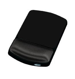 Fellowes MOUSE PAD/WRIST REST, HEIGHT ADJUSTABLE, GRAPHITE