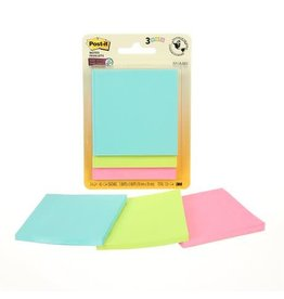 Post-it NOTES-POST-IT, SUPER STICKY 3X3 MIAMI COLLECTION