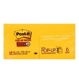 Post-it NOTES-POST-IT, POP-UP 3X3 SUPER STICKY, RIO DE JANEIRO