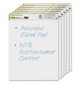 Post-it EASEL PAD-POST-IT 25''X30'' SUPER STICKY RECYCLED