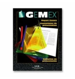 GEMEXPONENT REPORT COVER-LETTER VINYL, CLEAR 25/BOX