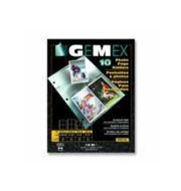 GEMEXPONENT SHEET PROTECTOR-FOR PHOTOS 5X7'' LETTER 10/PACK