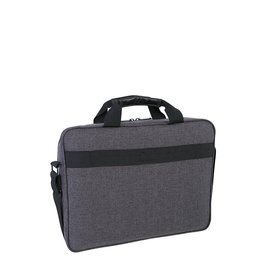 "Roots LAPTOP CASE-ROOTS, RFID BLOCKING, USB PORT, TO 15.6"", GREY"