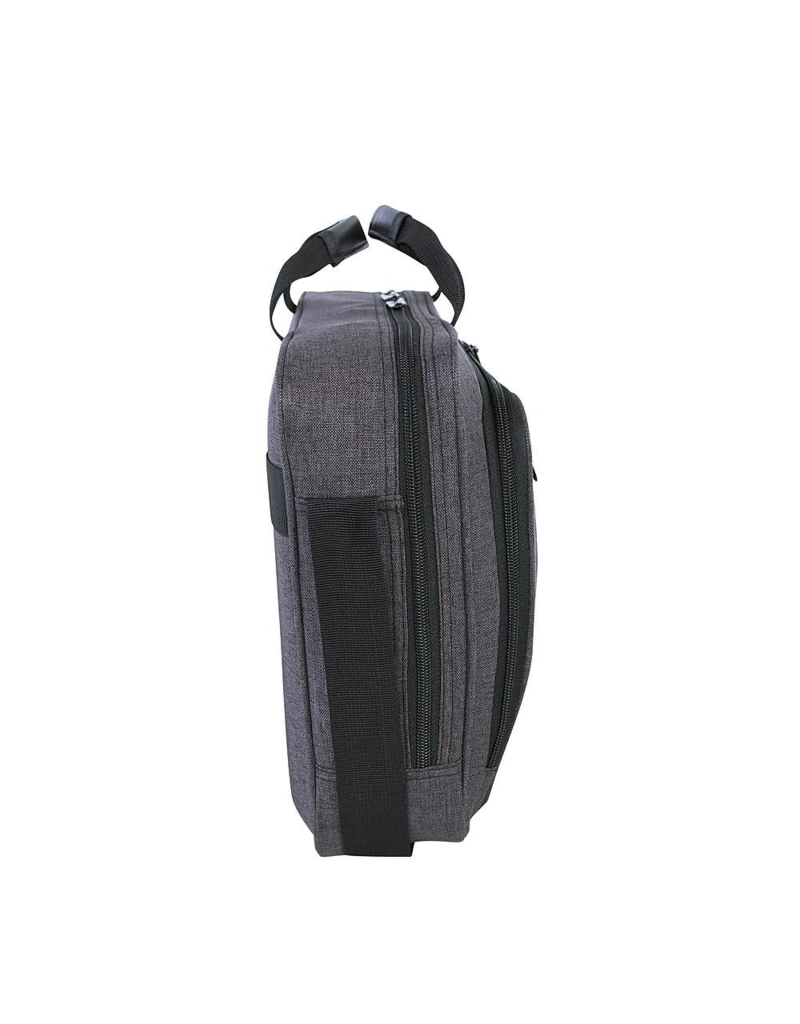 """Roots LAPTOP CASE-ROOTS, RFID BLOCKING, USB PORT, TO 15.6"""", GREY"""