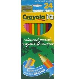 Crayola PENCIL SET-COLOURED, CRAYOLA 24 COLOURS, PRE-SHARPENED