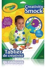Crayola ART SMOCK-CRAYOLA WITH SLEEVES