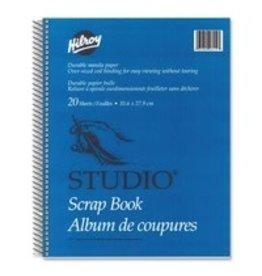 Hilroy SCRAPBOOK-STUDIO MANILA 14X11, 20 SHEET