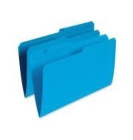 Pendaflex FILE FOLDER-LEGAL 10.5 POINT REVERSIBLE, BLUE -R615 BLU
