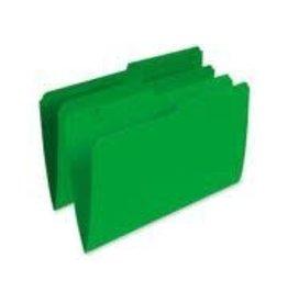 Pendaflex FILE FOLDER-LEGAL 10.5 POINT REVERSIBLE, GREEN -R615 GRN