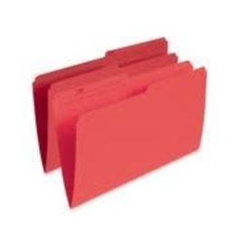 Pendaflex FILE FOLDER-LEGAL 10.5 POINT REVERSIBLE, RED -R615 RED