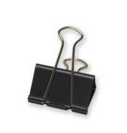 Acme United Foldback Clips - 2'' Wide 1'' Capacity, 12/Box