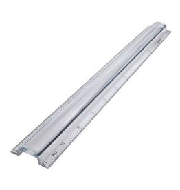 Acme United RULER-12''/30CM MAGNIFYING, CLEAR