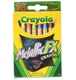 Crayola CRAYONS-METALLIC FX, CRAYOLA, 16 COLOURS