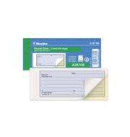 Dominion Blueline Inc. RECEIPT BOOK-FLEXIBLE, WITH CARBON, 35 DUPLICATE 2.75X6.75