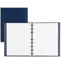 Blueline NOTEBOOK-NOTEPRO, 192 PAGE TWIN-WIRE 9.25X7.25 BLUE