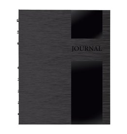 Blueline NOTEBOOK-NOTEPRO, LUX COLLECTION 192 PAGE 9.25X7.25 BLACK