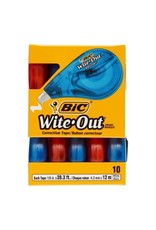 Bic CORRECTION TAPE-WITE-OUT EZ CORRECT 10/BOX -WOTAP10