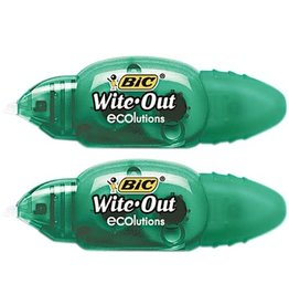 Bic CORRECTION TAPE-MINI WITE-OUT ECOLUTIONS -WOETP21