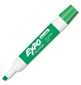Expo MARKER-DRY ERASE, EXPO LOW ODOUR, CHISEL GREEN (80004)
