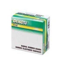 Dixon RUBBER BANDS-1/4 LB. BOX #18  1/16X3