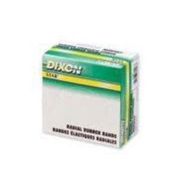Dixon RUBBER BANDS-1/4 LB. BOX #107 5/8X7