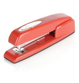 ACCO Brands STAPLER-FULL STRIP BUSINESS, RED, CAPACITY 20 SHEETS   -747