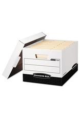 Fellowes FILE BOX-R KIVE, LETTER/LEGAL WHITE/BLACK