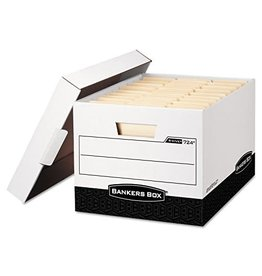 Fellowes FILE BOX-R KIVE, LETTER/LEGAL WHITE/BLACK