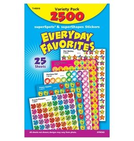 TREND Enterprises STICKERS-VARIETY PACK, EVERYDAY FAVOURITES