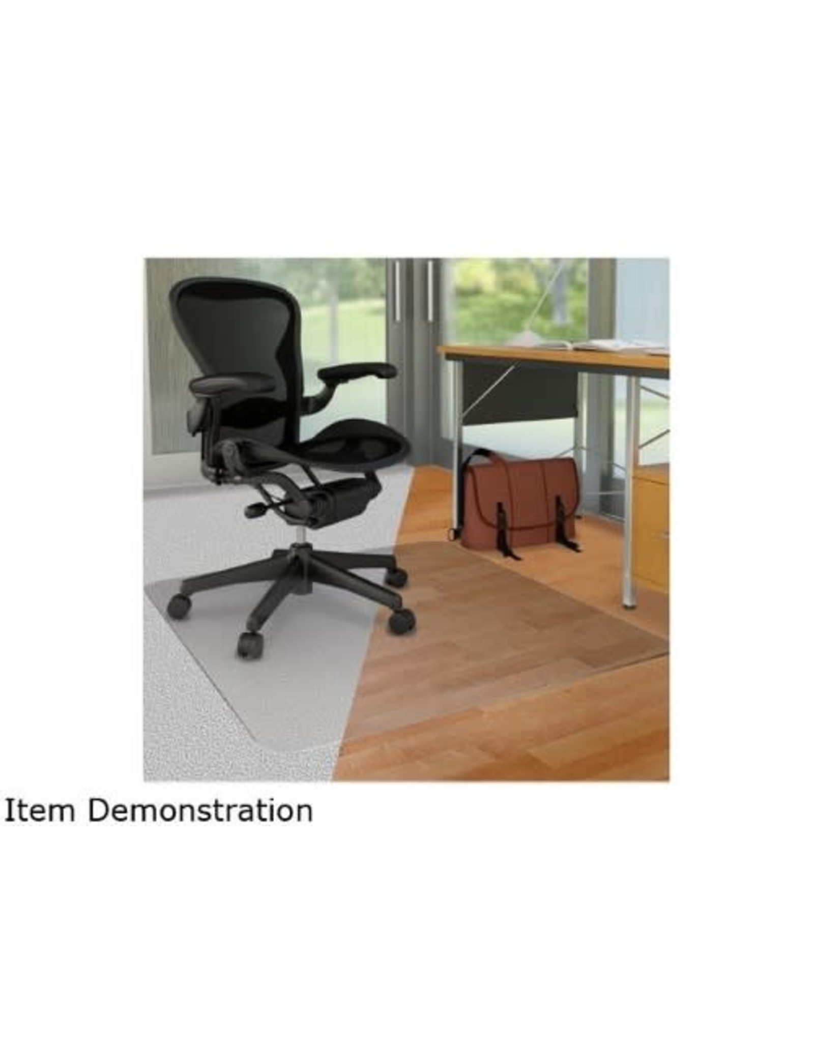 Deflecto CHAIRMAT-DUOMAT, CARPET/HARD FLOOR 45X53 WITH 25X12 LIP
