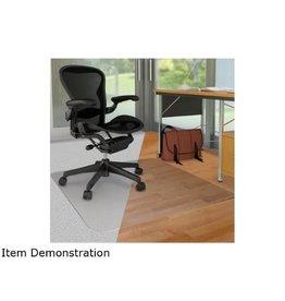 Deflecto CHAIRMAT-DUOMAT, CARPET/HARD FLOOR 45X53 WITH 25X12 LIP