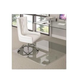Deflecto SIT STAND MAT-CHAIRMAT AND ANTI-FATIGUE MAT IN ONE 45''X53''