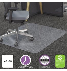 Deflecto CHAIRMAT-POLYCARBONATE 46X60 ALL PILE
