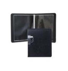 VLB Marketing PRESENTATION BOOK-POLY, 8-1/2X11 BLACK