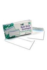TOPS Products ENVELOPE-#10 WHITE, SECURITY, REDI-SEAL, 30/BOX