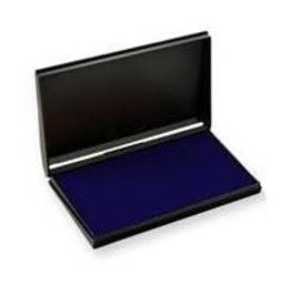 Trodat STAMP PAD-FELT, 3-1/2 X6-3/8 BLUE -9053