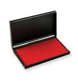 Trodat STAMP PAD-FELT, 3-1/2 X6-3/8 RED -9053