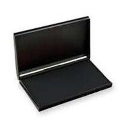 Trodat STAMP PAD-FELT, 3-1/2 X6-3/8 BLACK -9053