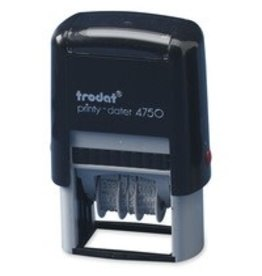 Trodat DATER-PRINTY, RECEIVED  -4750/L1  -64296