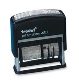 Trodat DATER-PRINTY, DIAL-A-PHRASE ENGLISH -4817