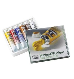 Colart PAINT SET-OIL, WINTON 6 X 21ML. TUBES