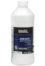 Liquitex GESSO-LIQUITEX CLEAR 946ML. SURFACE PREP