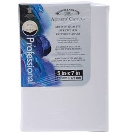Winsor & Newton CANVAS-STRETCHED W&N 5X7'' COTTON