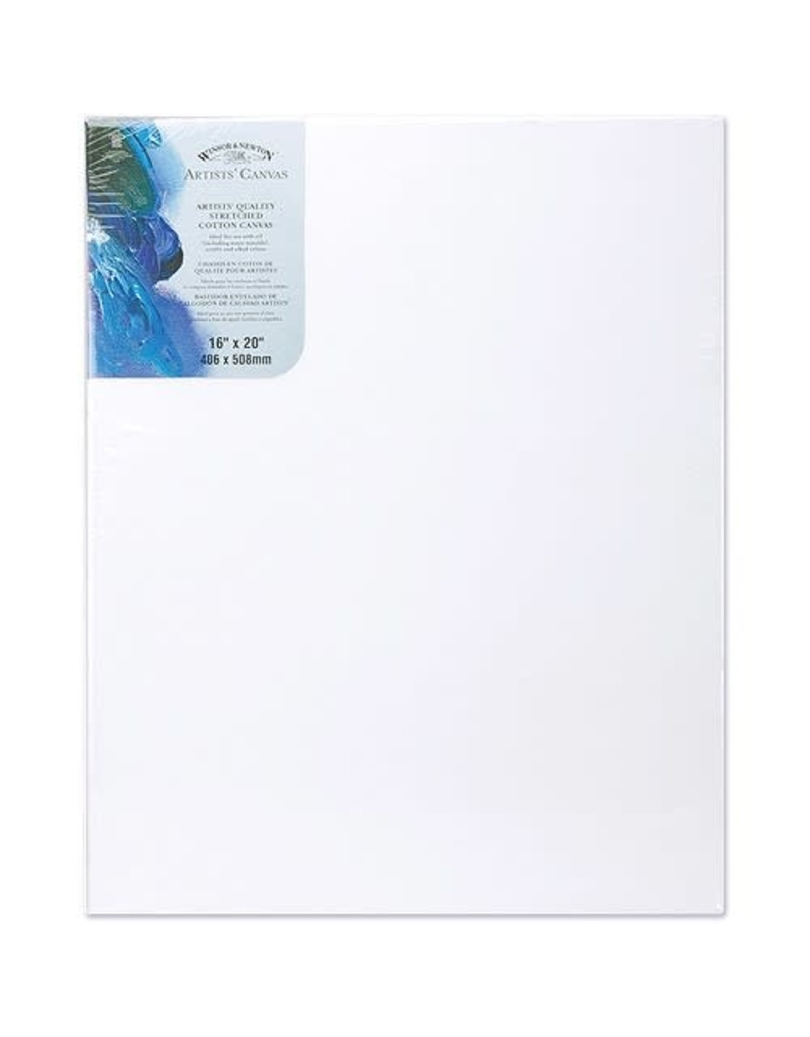 Colart CANVAS-STRETCHED W&N 16X20'' COTTON