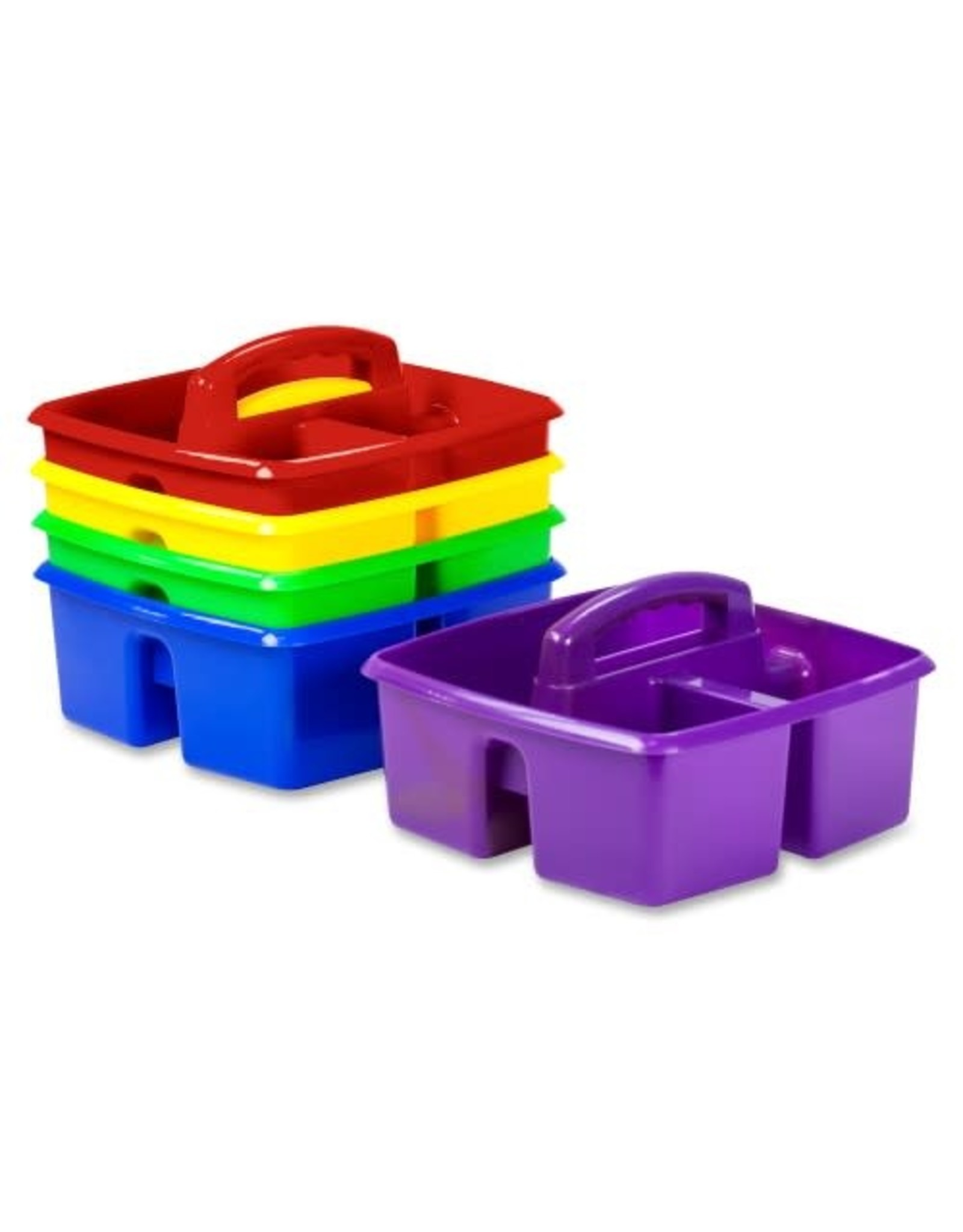 Storex CADDY-SMALL, CLASSROOM CADDY, 5 ASSORTED/SET