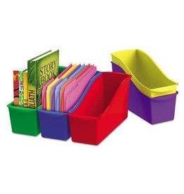 Storex BIN-BOOK, LARGE CLASSROOM,  5 ASSORTED COLOURS/SET