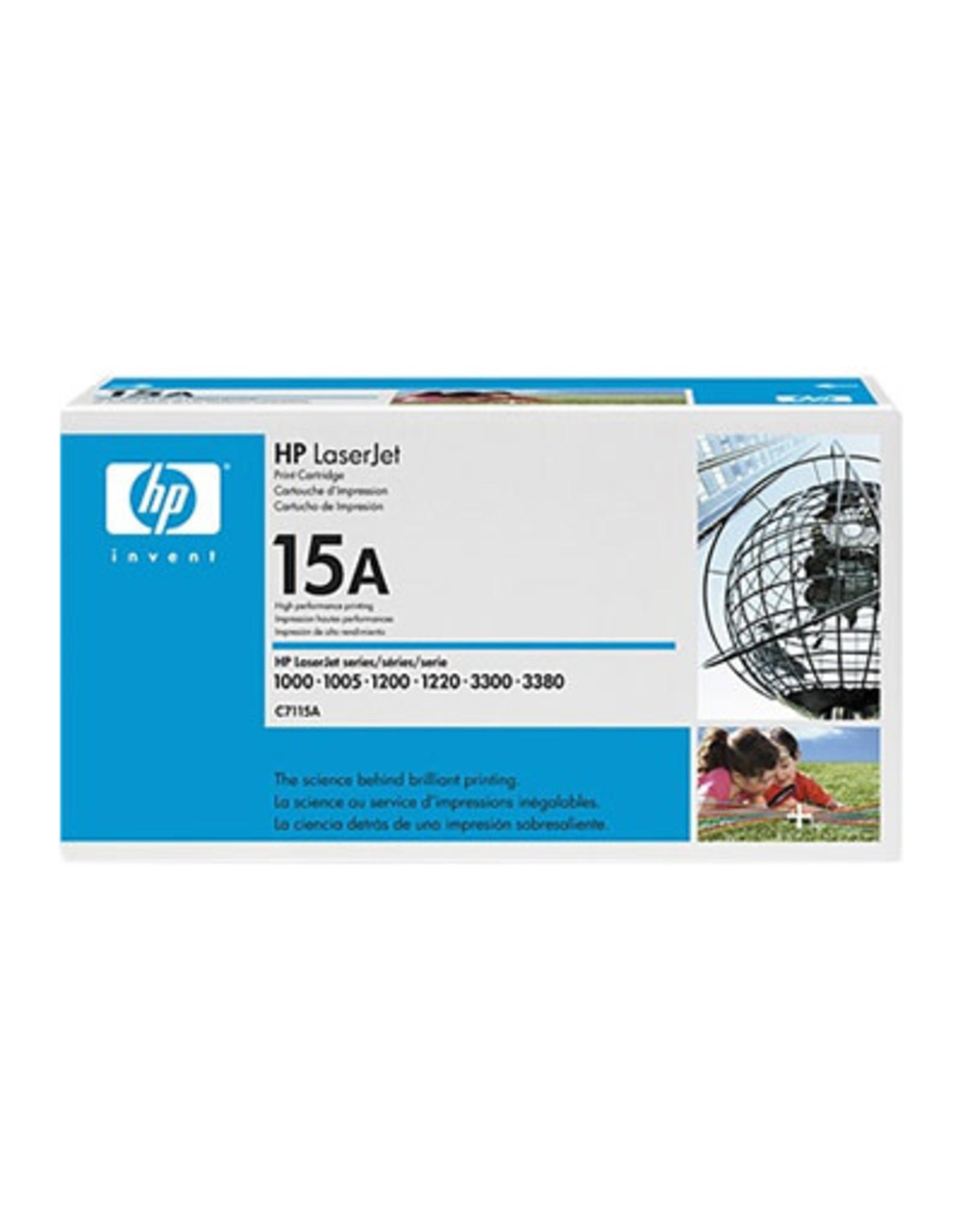 HP LASER TONER-HP #15A BLACK