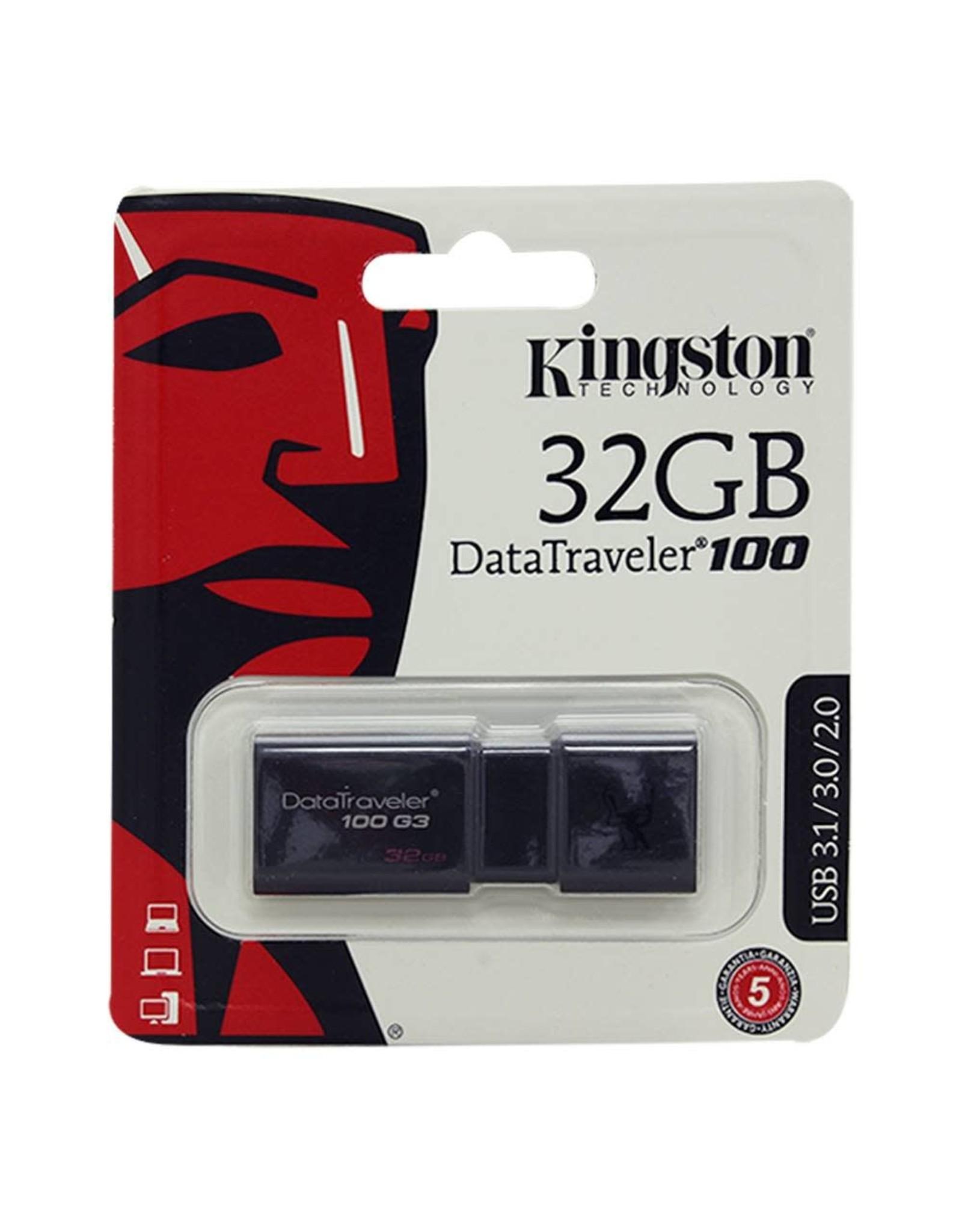Kingston Technology Kingston Technology DataTraveler 100 G3 32GB USB 3.0 Drive